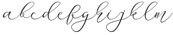 Miracle otf (400) Font LOWERCASE
