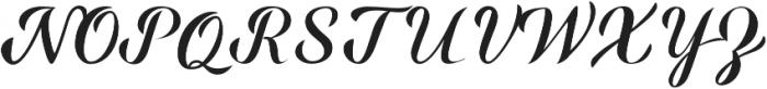 Miralight ttf (300) Font UPPERCASE