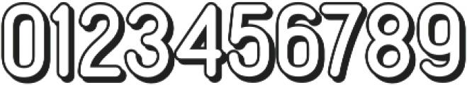 Mirandah Extrude otf (400) Font OTHER CHARS