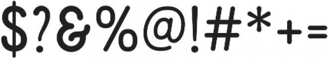 Mirandah Normal otf (400) Font OTHER CHARS