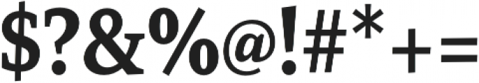 Mirantz Cond Bold otf (700) Font OTHER CHARS