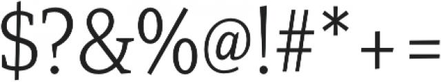 Mirantz Cond Thin otf (100) Font OTHER CHARS