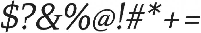 Mirantz Ext Book Italic otf (400) Font OTHER CHARS