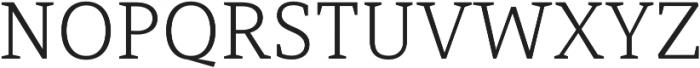 Mirantz Ext Thin otf (100) Font UPPERCASE