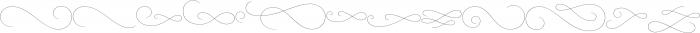 Mirosa Swash otf (400) Font LOWERCASE