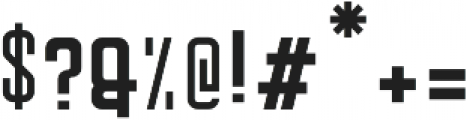 Mirwana Sans ttf (700) Font OTHER CHARS