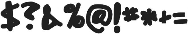 Misato ttf (400) Font OTHER CHARS