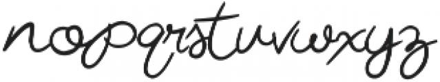Miss Beautiful Bold otf (700) Font LOWERCASE