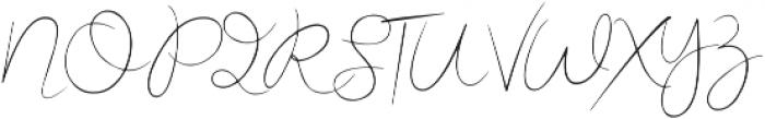 Miss Beautiful Regular otf (400) Font UPPERCASE