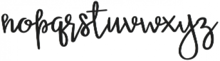 Miss Betsy otf (400) Font LOWERCASE