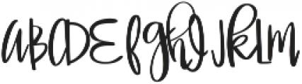 Miss Elizabeth ttf (400) Font UPPERCASE