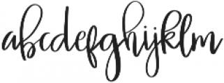 Miss Elizabeth ttf (400) Font LOWERCASE