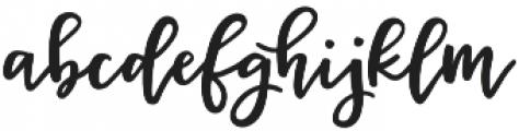 Miss Magnolia Script otf (400) Font LOWERCASE
