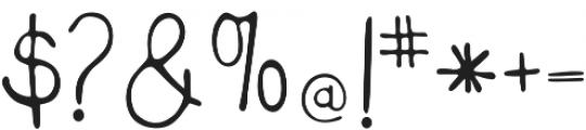 Miss Murphy Sans Script otf (400) Font OTHER CHARS