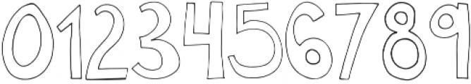 Miss Murphy Symbols Symbols otf (400) Font OTHER CHARS