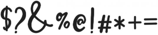 MissDaisyAlt otf (400) Font OTHER CHARS