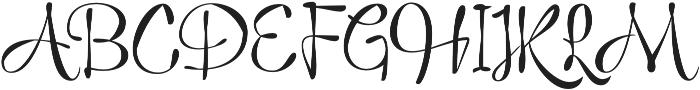 Mist otf (400) Font UPPERCASE