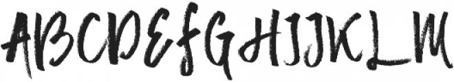 Mister Fast otf (400) Font UPPERCASE