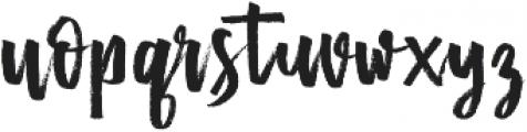 Mister Fast otf (400) Font LOWERCASE