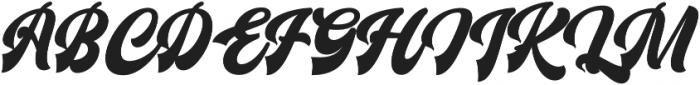 Mistery Regular otf (400) Font UPPERCASE