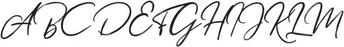 Misthique otf (400) Font UPPERCASE