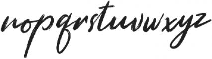 Misthique otf (400) Font LOWERCASE