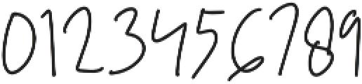 Mistice Regular otf (400) Font OTHER CHARS