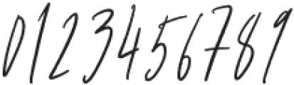 Mistique Touch Regular otf (400) Font OTHER CHARS