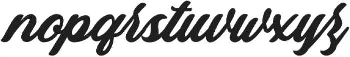 Mistroling otf (400) Font LOWERCASE