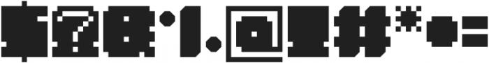 Mistry Box otf (400) Font OTHER CHARS