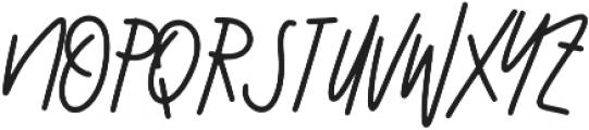 Misty Whisper ttf (400) Font UPPERCASE
