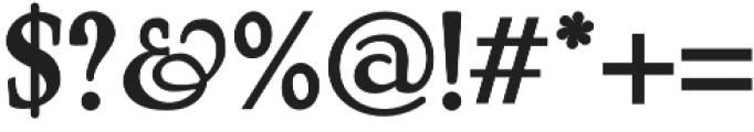 MistyMedow Regular otf (400) Font OTHER CHARS