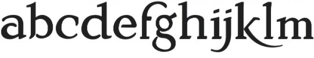 MistyMedow Regular otf (400) Font LOWERCASE
