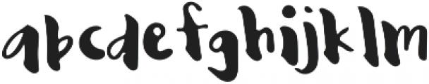 Mix Abuzz Regular otf (400) Font LOWERCASE