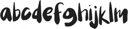 Mix Festival Regular otf (400) Font LOWERCASE