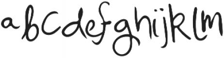 Mix Freo Regular otf (400) Font UPPERCASE