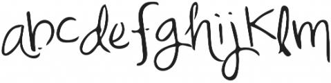 Mix Freo Regular otf (400) Font LOWERCASE