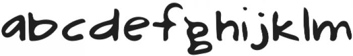 Mix Illustra Regular otf (400) Font LOWERCASE
