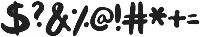 Mix Klunker Regular otf (400) Font OTHER CHARS