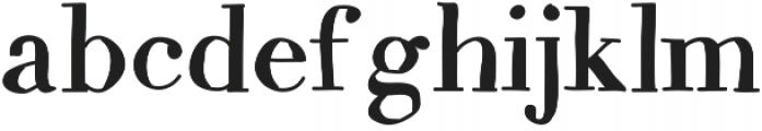 MixCarpathia ttf (400) Font LOWERCASE