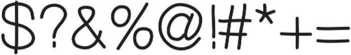 MixDemiSans ttf (400) Font OTHER CHARS