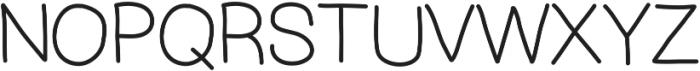 MixDemiSans ttf (400) Font UPPERCASE