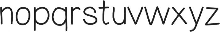 MixDemiSans ttf (400) Font LOWERCASE