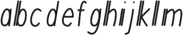 MixDuple ttf (400) Font LOWERCASE