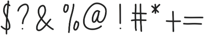 MixEveryday ttf (400) Font OTHER CHARS