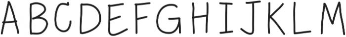 MixEveryday ttf (400) Font UPPERCASE