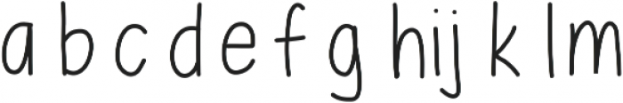 MixEveryday ttf (400) Font LOWERCASE