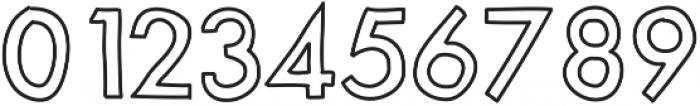 MixModernOutline ttf (400) Font OTHER CHARS