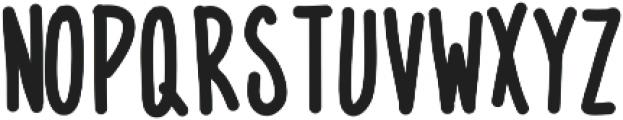 MixNarrow ttf (400) Font UPPERCASE