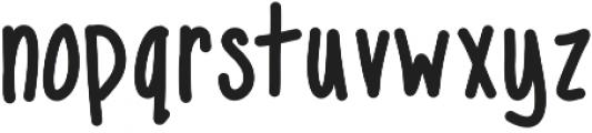 MixNarrow ttf (400) Font LOWERCASE